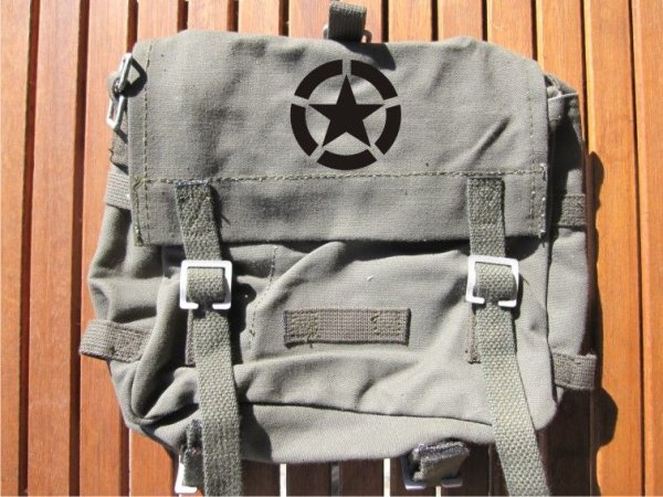 BW Combat Pack with Strap & Allied Star US Army