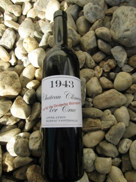 Wehrmacht Wine Label 1943 4 pcs