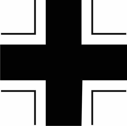 German Cross Vehicle Sticker
