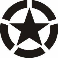 Allied Star Fahrzeug Aufkleber