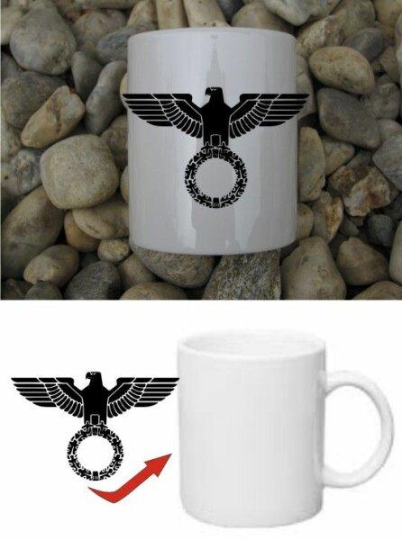 Reichsadler Kaffee Becher Tasse