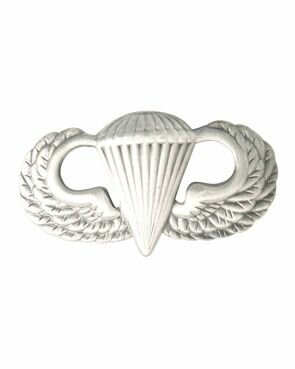 US Paratrooper Springerabzeichen Metall Basic