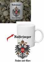 Kaiserjaeger Austria KuK Kaffee Becher Tasse