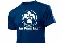 Thunderbirds T-Shirt US Army Airforce Pilot Navy
