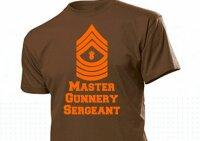 T-Shirt US Army Master Gunnery Sergeant