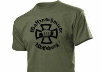 Waffenschmiede Wolfsburg T-Shirt Eisernes Kreuz