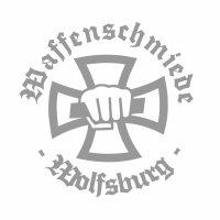 Waffenschmiede Wolfsburg Fahrzeug Aufkleber Eisernes Kreuz
