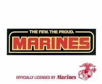 The Few The Proud Marines USMC Bumper Sticker