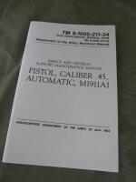 Technical Manual TDV Colt M1911A1 Cal.45