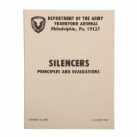 """Manual """"Silencers"""" Department of the US Army..."""