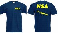 """NSA - O zapft is!"" Lauschangriff T-Shirt"