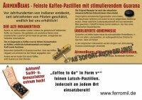 5x AirmenBeans Kaffee Guarana Pastillen (13,10 EUR / 100...