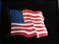 Buckle Gürtelschnalle USA Flagge 48 Stars Flag