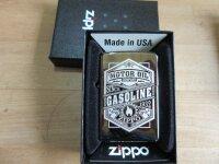 Zippo Gasoline Motor Oil since 1932 Hot Rod Rockabilly...