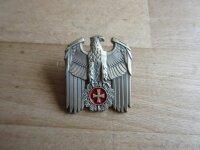 Reichsadler Banner Eisernes Kreuz Schild Pin #2