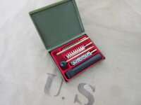 US Army Pistol Cleaning Kit Cal. 38 357 9mm Nam Seals...
