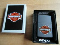 Original Zippo Harley Davidson HD Bar & Shield Logo...