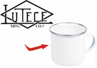 Lutece Mfg Co Emaille Tasse Kaffeetasse