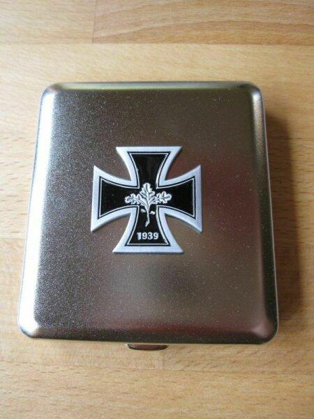 WH Iron Cross 1939 Cigarette Case