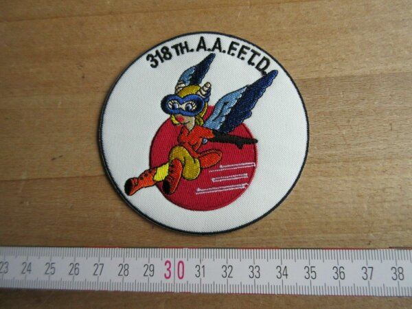 Fifinella WASP WAC Women Air Corps Pilots Patch US Army WK2 WWII 318th AAFFTD