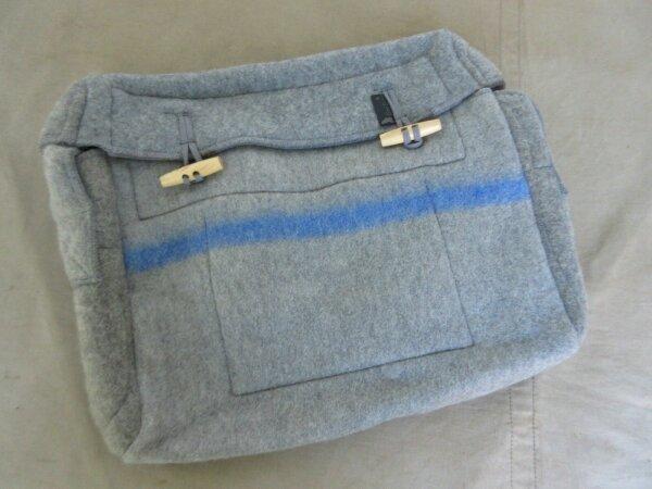 Filz Vintage Tasche Umhängetasche Handtasche Heritage Nose Art Messenger Bag #1