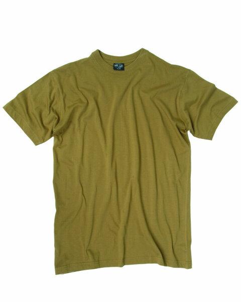 T-Shirt US Army Style Coyote / Sand WWII WK2 NEU Desert Uniform Gr S-5XL