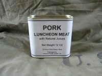 """US Army """"Pork Luncheon Meat"""" Field Ration..."""