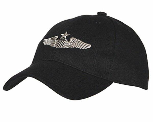 US Army Airforce Senior Pilot Propeller Wings WWII Baseball Cap Navy Marines WW2