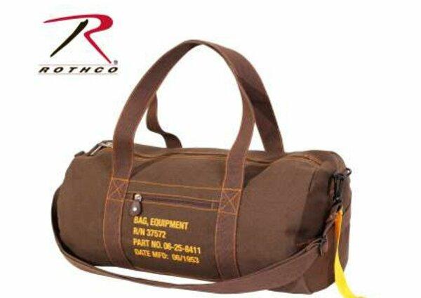 US Army Canvas Equipment Bag Reisetasche Umhängetasche Schultertasche Canvas #2