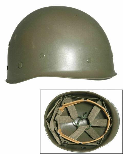 US Army M1 Innenhelm für Stahlhelm M1 Inlay Inlet Steel Helmet 1969 Vietnam Zeit