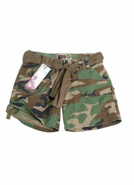 US Army Shorts Women Damen Shorts 3-color Woodland Gr M Ripstop Hot Pants Style