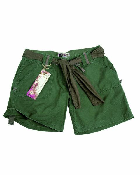 US Army Shorts Women Damen Shorts Oliv Gr L Ripstop Hot Pants Style