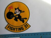 US Army Tomcatter Wildcat Felix the Cat Tomcat Fighting...